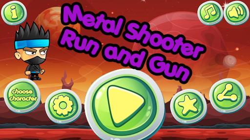 shooter of metal - run & gun screenshot 1