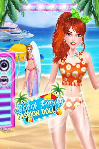 Summer Beach Party Fashion Doll Salon 2021 1.0.9 screenshots 6