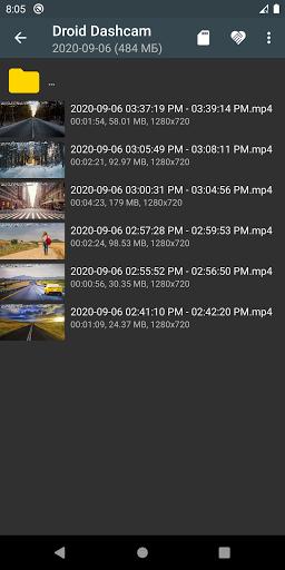 Droid Dashcam - Driving video recorder, BlackBox 1.0.74 Screenshots 3