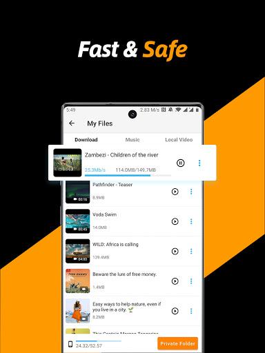 Video Downloader, Private File Downloader & Saver apktram screenshots 10