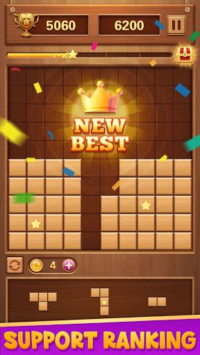 Wood Block Puzzle - Classic Brain Puzzle Game 1.5.9 screenshots 13