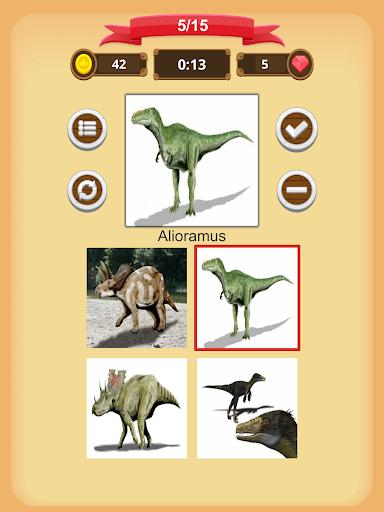 Dinosaurs Quiz 1.9.0 screenshots 9