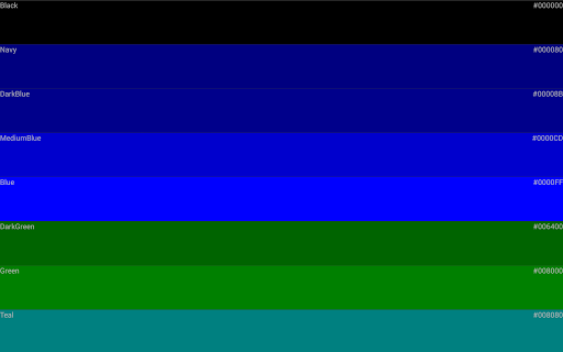 Color code For PC Windows (7, 8, 10, 10X) & Mac Computer Image Number- 20