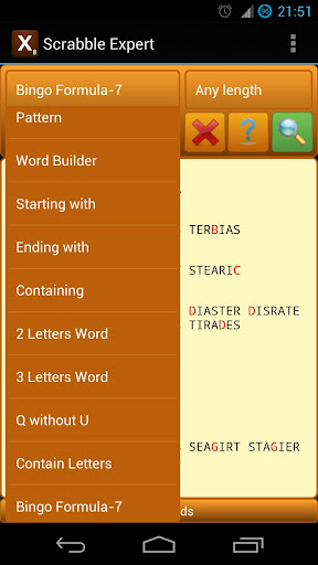 Word Expert (for SCRABBLE) 4.5.1 screenshots 6