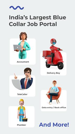 WorkIndia Job Search App - Work From Home Jobs  screenshots 1