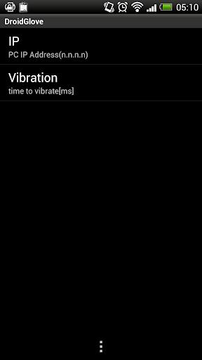 droidglove screenshot 2