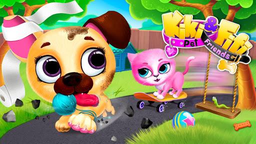 Kiki & Fifi Pet Friends - Virtual Cat & Dog Care 5.0.30010 screenshots 3