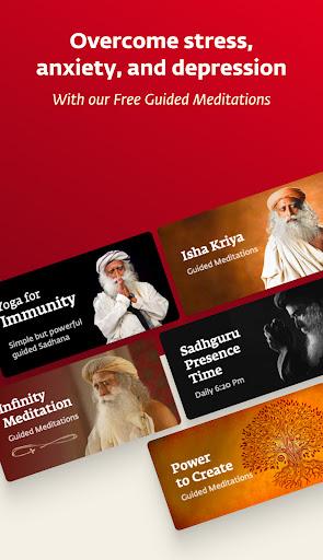 Sadhguru - Yoga, Meditation & Spirituality apktram screenshots 3