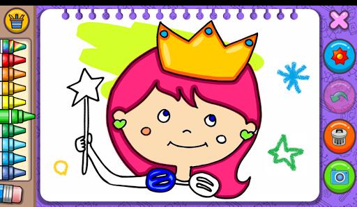Princess Coloring Book & Games 1.44 Screenshots 9