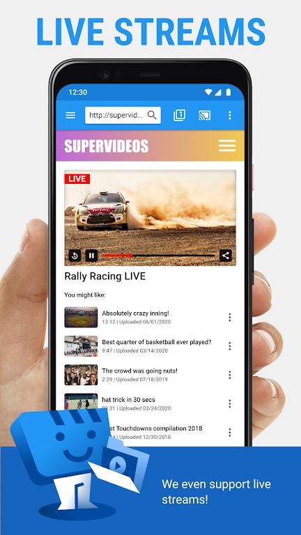 Web Video Cast | Browser to TV/Chromecast/Roku/+  poster 4