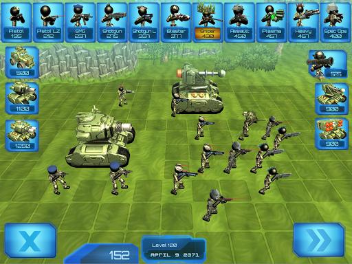 Stickman Tank Battle Simulator 1.10 screenshots 6