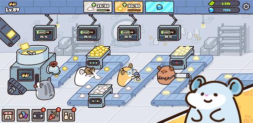 Hamster cookie factory - tycoon game  screenshots 10