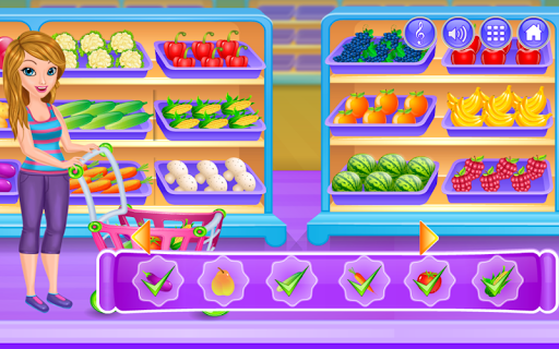 Shopping Supermarket Manager Game For Girls 1.1.12 screenshots 1