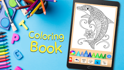 Coloring game for girls and women 15.1.4 screenshots 12