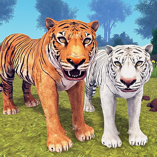 Tiger Family Simulator: Angry Tiger Games