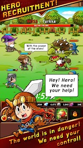 Hero C Mod Apk: Legend of Heroes (Unlimited Gold/Diamonds) 2