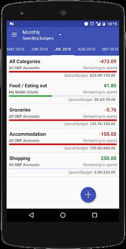Just Money manager, Budget Bills & Expense tracker  Screenshots 3