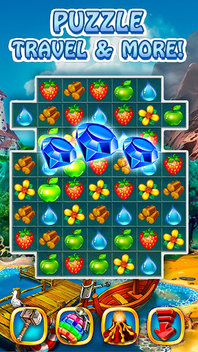 Magica Travel Agency - Match 3 Puzzle Game 1.2.9 screenshots 3