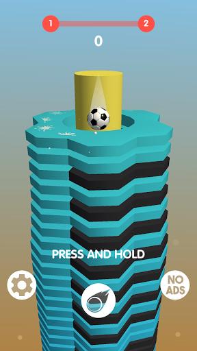 New Stack Ball Games: Drop Helix Blast Queue 1.0.2 screenshots 1