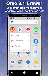 Launcher Oreo 8.1 1.9 Screenshots 2