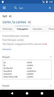 SpanishDict Translator Screenshot