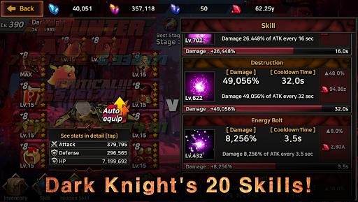 Dark Knight : Idle RPG game  screenshots 8
