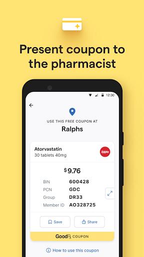 GoodRx: Prescription Drugs Discounts & Coupons App apktram screenshots 4
