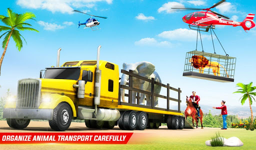 Farm Animal Transport Truck Driving Simulator 26 Screenshots 9