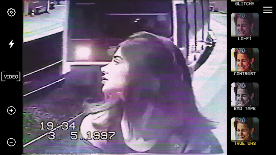 True VHS 🌌 – 80s Vintage camera & glitch editor 2