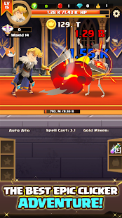 Clicker Knight: Incremental Idle RPG Screenshot