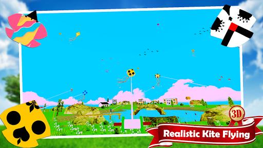 Basant The Kite Fight 3D : Kite Flying Games 2021 1.0.7 screenshots 4