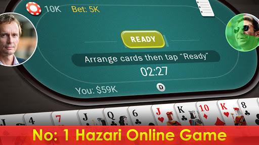 Hazari - 1000 Points Card Game Online Multiplayer 1.0 screenshots 1