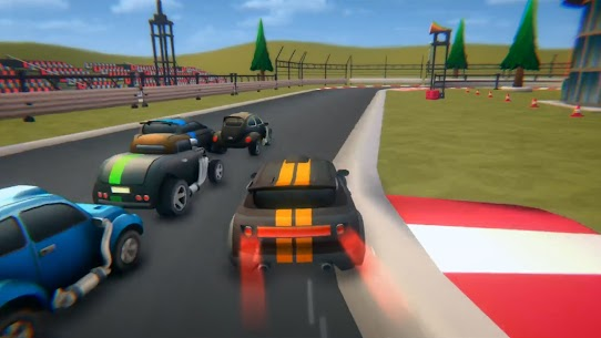 Power Toon Racing Mod Apk (Unlimited Money) 0.1.0 2