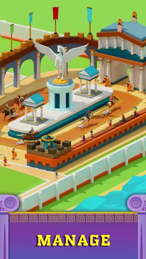 Idle Antique Gym Tycoon: Incremental Odyssey screenshots 7