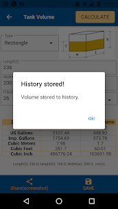 Tank Volume Calc Pro Apk for Android 5