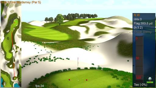 iron 7 one golf game lite screenshot 1