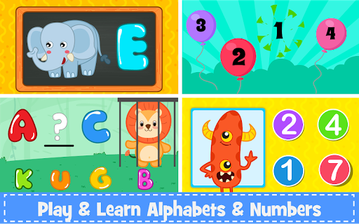 Kids Preschool Learning Games - 150 Toddler games 5.8 Screenshots 3