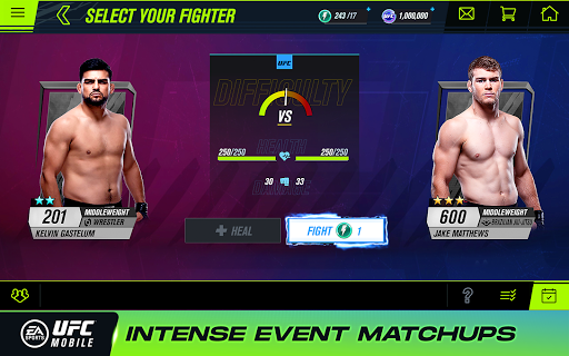 EA SPORTSu2122 UFCu00ae Mobile 2 1.5.04 screenshots 10