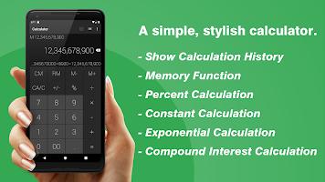Calculator - Simple & Stylish