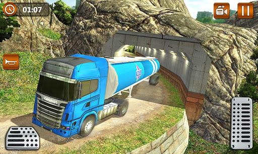 Offroad Oil Tanker Truck Transport Driver  Screenshots 2