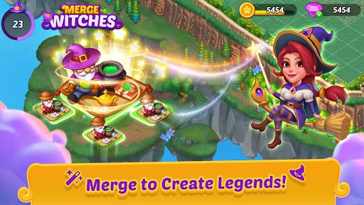 Merge Witches - merge&match to discover calm life Apkfinish screenshots 1