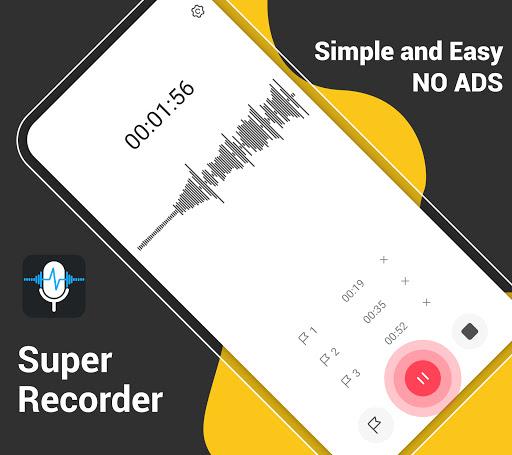 Download APK: Voice Recorder-Free Audio Recorder+Sound Recording v1.5.5 [Pro]