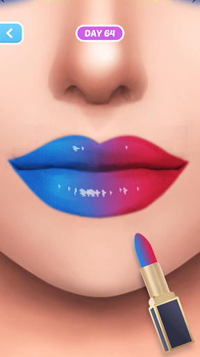 Fashion Makeup-Simulation Game apkpoly screenshots 2