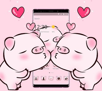 Pink Cute Love Piggy For Pc – Free Download In 2020 – Windows And Mac 2