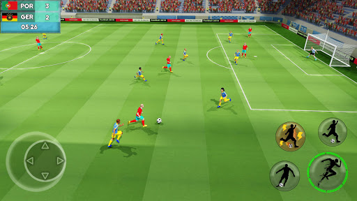 Soccer ⚽ League Stars: Football Games Hero Strikes screenshots 1