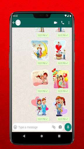 I Love You Stickers for Whatsapp - WAStickerapps  Screenshots 2