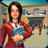 High School Girl Simulator: Virtual Life Game 3D icon