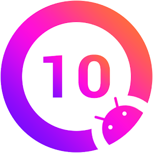 Q Launcher for Q 10.0 launcher Android Q 10 2020 8.8 by O Launcher Group logo