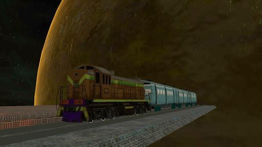 space bullet train simulator screenshot 2