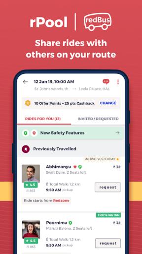redBus - Largest Online Bus Ticket Booking App apktram screenshots 6